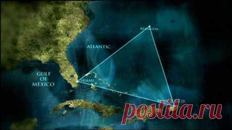 7 самых интересных теорий, объясняющих загадку Бермудского треугольника — Интересные факты