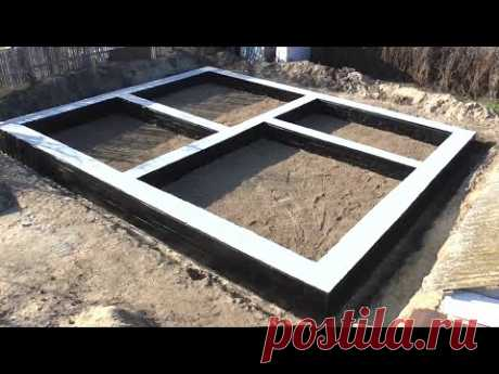 Timelapse of construction. The foundation.