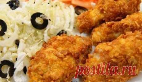 Крылышки а-ля KFC (рецепт с фото) #крылышки #KFC #рецептсфото