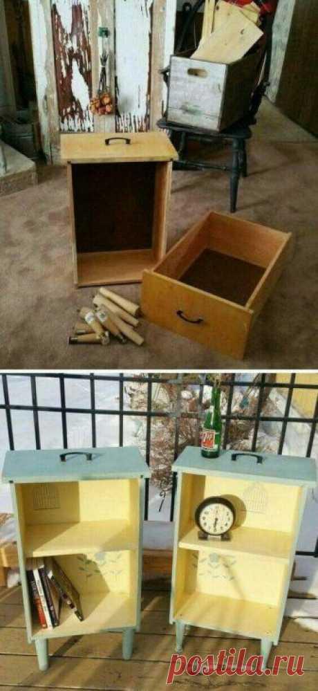 Новая жизнь старой мебели | Наши дома