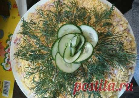 (11) Праздничный салат - пошаговый рецепт с фото. Автор рецепта Татьяна Звонник . - Cookpad