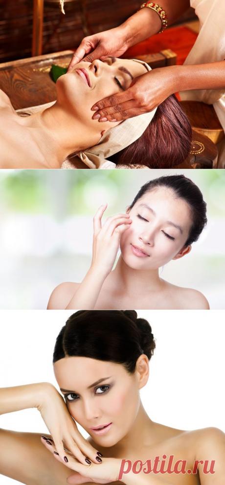 Массаж лица: по–японски, по-китайски, по-индийски / Все для женщины