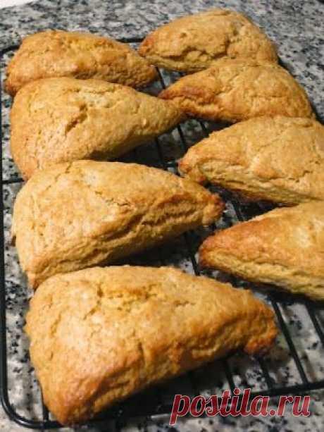 Невыразимая легкость кулинарного бытия...: Тыквенные сконы