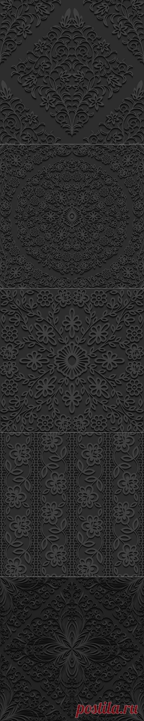 Тёмные 2D текстуры.