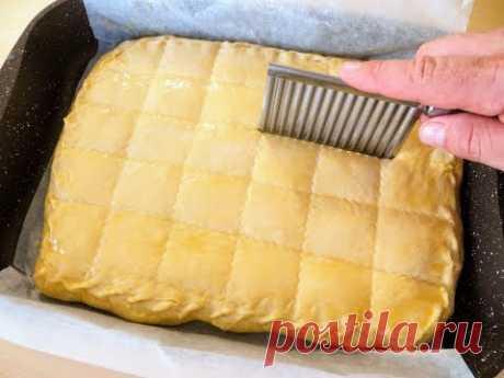 Я не поверил, что соду можно сыпать прямо на тесто / Пирог с любимой начинкой