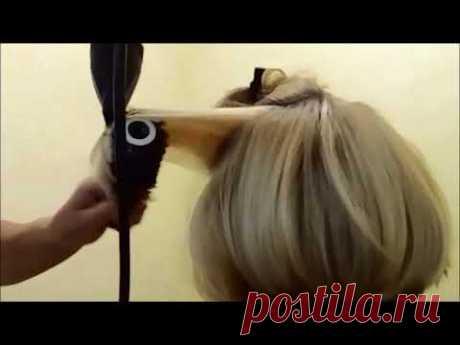 Как сушить волосы брашингом