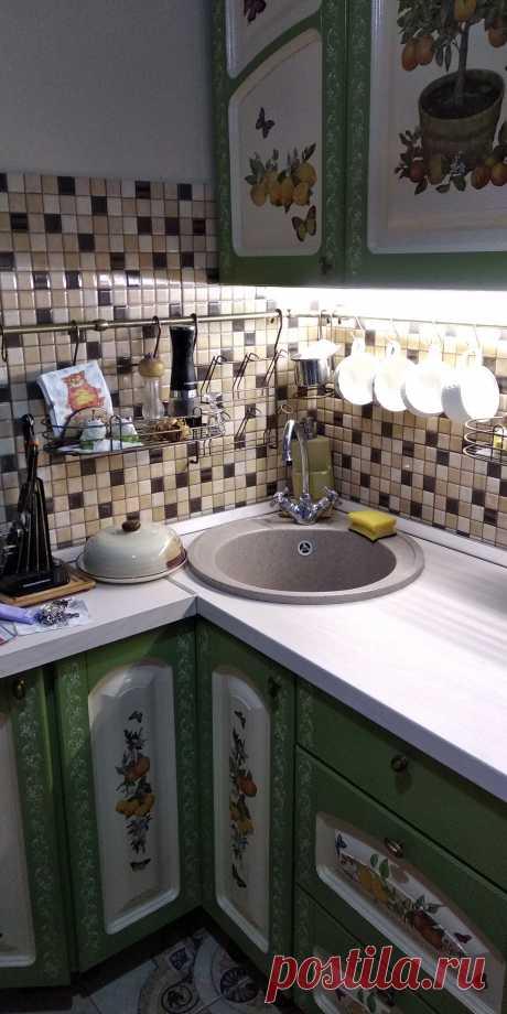 Кухня  5,2 после ремонта
