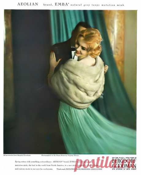 photo by Virginia Thoren, Vogue, April 15, 1959