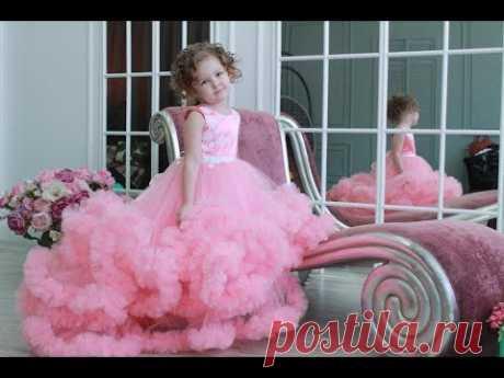 Платья неземной красоты VIP - МК. Платья которые сейчас в моде!