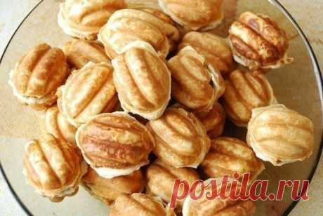 How to prepare those nutlets with condensed milk - the recipe, ingredients and photos
