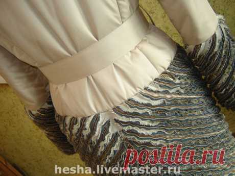 Одежда с декором в технике синель — Делаем руками