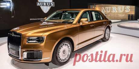 Названа стартовая цена наседан Aurus | AUTO.TUT.BY