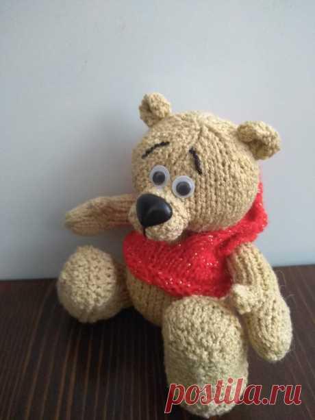 Вязаные игрушки - подарок любимым: Медвежонок