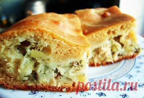 Капустный заливной пирог: выпечка на скорую руку! | Вкусные рецепты