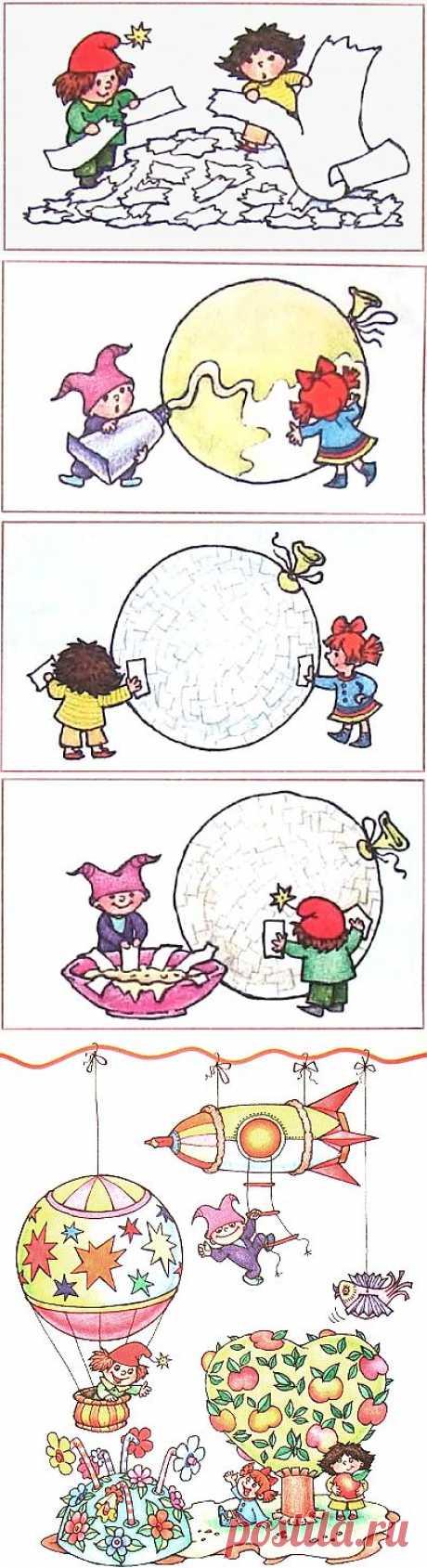 Папье-маше на воздушном шарике :: Поделки в технике папье-маше