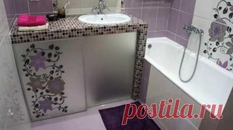 Грамотный интерьер ванной комнаты #ваннаякомната #дизайнинтерьера
