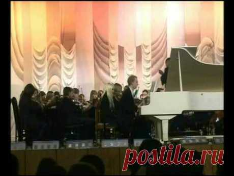Second Concerto for piano and orchestra in 3 movements by composer Vladimir Sidorov (opus 100, 2004). 2. Andante. Symphony Orchestra of Magnitogorsk conservatoire under Renat Jiganshin, soloist Vasiliy Karpov (piano). 2006.