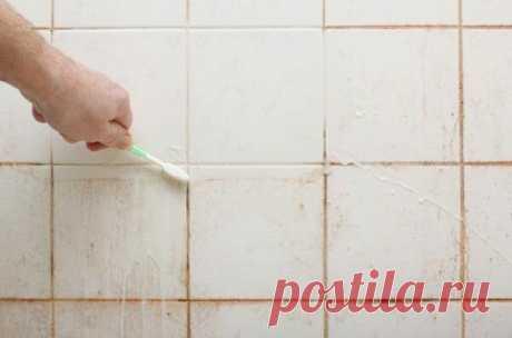 Отбеливаем швы между плиткой и одновременно избавляемся от плесени! | Идеи дизайна, креатива и ремонта | Яндекс Дзен