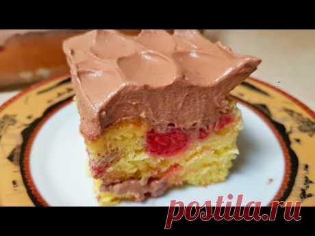 БЕЗ ЗАМОРОЧЕК! Все в ВОСТОРГЕ от Вкуса этого Торта-Пирога и Просят Рецепт