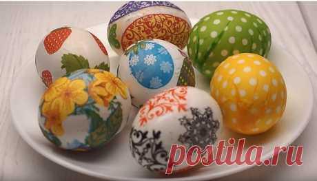 Яйцо — символ жизни на земле. В предверии праздника Великой Пасхи, люди уделяют много внимания этому предмету и украшают пасхальные яйца всеми доступными способами в домашних условиях.