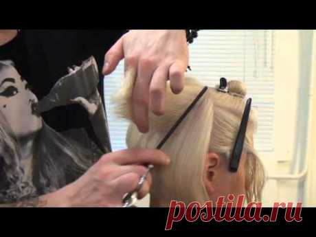Лучший мастер-класс по стрижке боб. Урок для парикмахеров. - YouTube