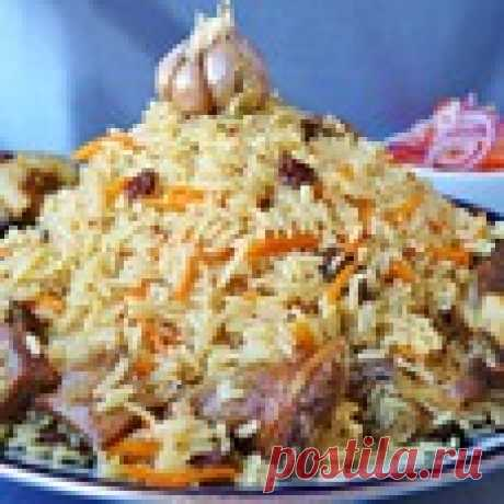 Иранский плов Кулинарный рецепт
