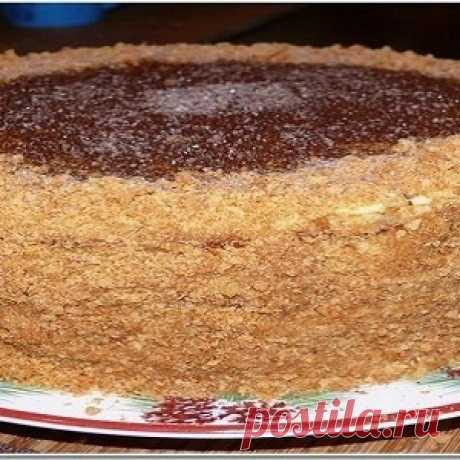 Самый вкустый торт «Рыжик»