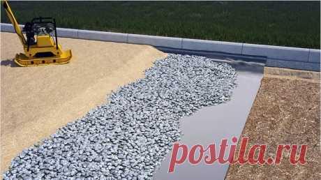 Геотекстиль под тротуарную плитку: какой нужен, укладка, чем заменить?