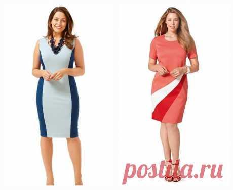 6 идеальных платьев для полных девушек