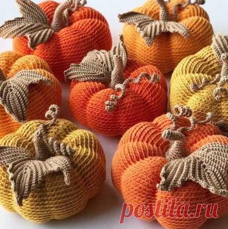 Схема вязания для овощей и фруктов
