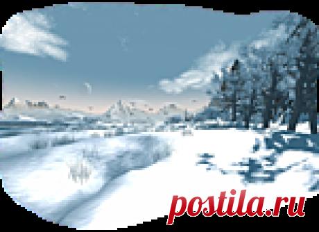 Зимнее png