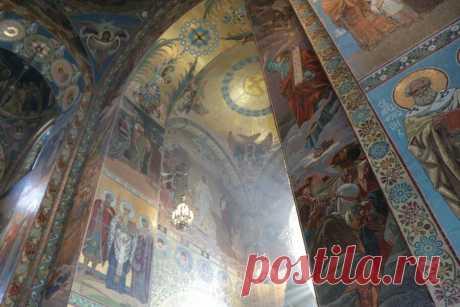 Внутри Собора Воскресения Христова на Крови (40 ФОТО) | ПОЛИНА ВОЛКОВА | Яндекс Дзен