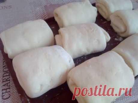 Պատրաստում ենք շերտավոր խմոր  Слоеное тесто