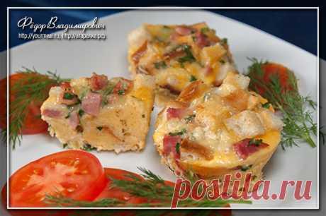 Закусочные маффины | Домашние рецепты
