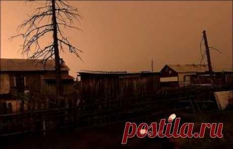 """В Якутии неизвестное явление на три часа """"заслонило"""" Солнце"""