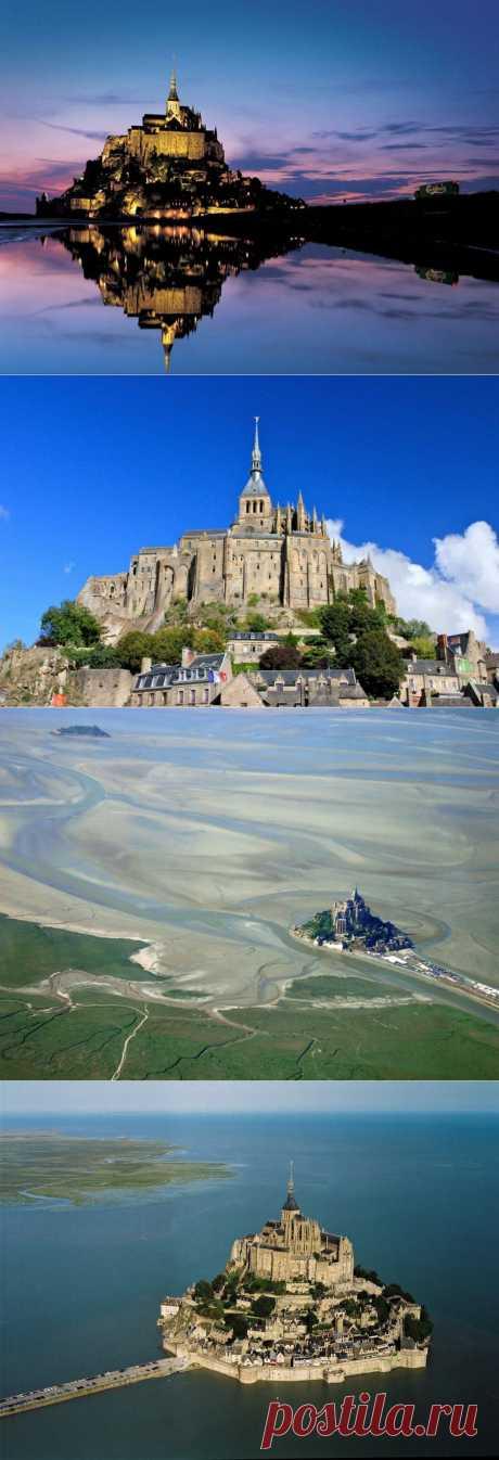 Крепость Мон-Сен-Мишель | НАШ ГОРОДОК