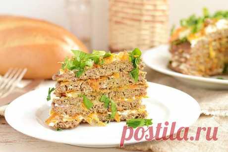 Печеночный торт с морковью рецепт с фото - 1000.menu