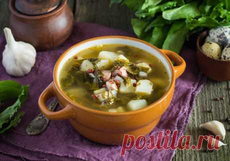 Хорватский суп с молодой зеленью - БУДЕТ ВКУСНО! - медиаплатформа МирТесен