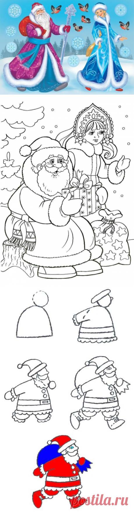 Рисунки на Новый год Быка 2021: шаблоны для срисовки | Домашняя ферма