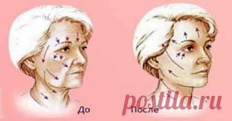 Этот способ помог мне в краткие сроки подтянуть кожу лица и избавиться от морщин. Каждый вечер выполняю его - Ok'ейно 8 эффективных упражнений