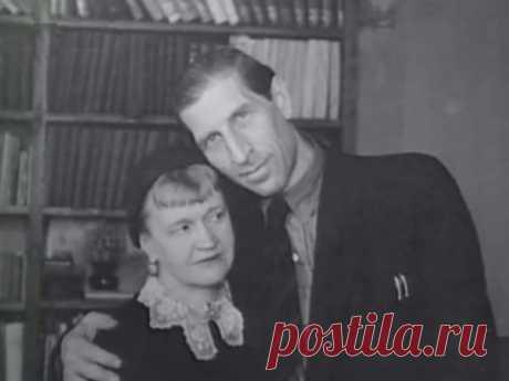 Сергей Филиппов с женой, писательницей Антониной Голубевой