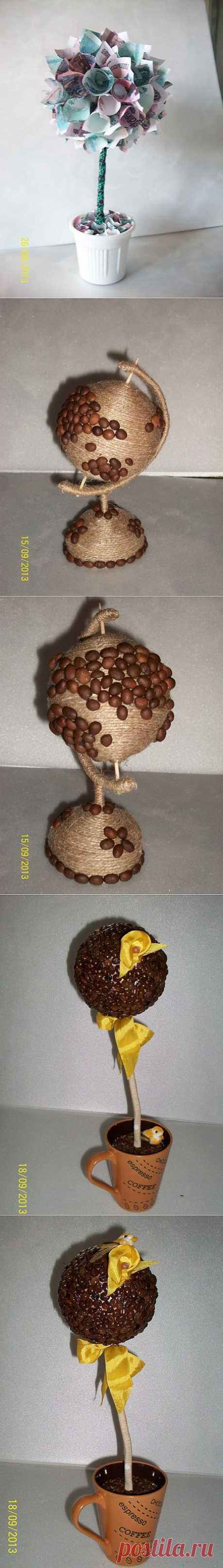 кофейный глобус
