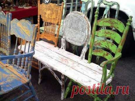 In alteration or for firewood? Second life of old furniture