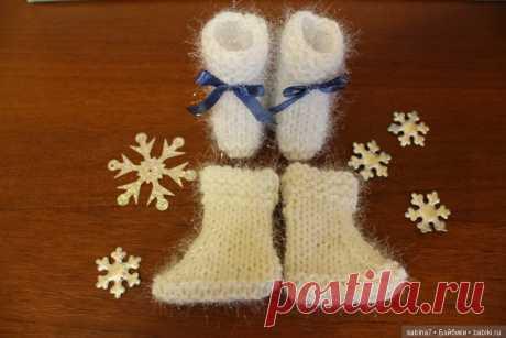 Вместе вяжем сапожки для кукол Паола Рейна / Одежда и обувь для кукол своими руками / Бэйбики. Куклы фото. Одежда для кукол
