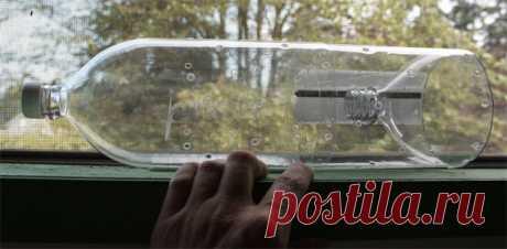 Неожиданные способы использования пластиковой бутылки — Мой дом
