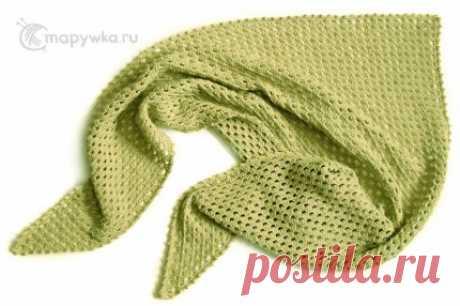 Шаль вязаная кашемировая (светло-оливковая) - купить | Одежда ручной работы | HANDMADE интернет-магазин