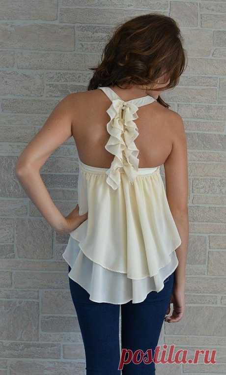 Красивая спинка / Декор спины / Модный сайт о стильной переделке одежды и интерьера