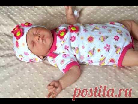 Распаковка Реборна! #2 Сладкая красавица сплюша!
