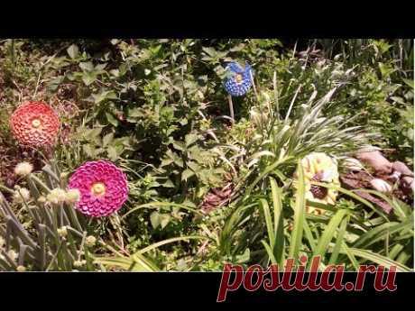 Большие цветы для сада 3 часть ХоббиМаркет