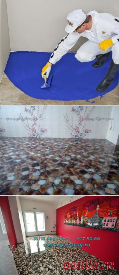 Декоративный 3D-пол своими руками | Как сделать 3D-пол самостоятельно?